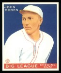 1933 Goudey Reprints #176  John Ogden  Front Thumbnail