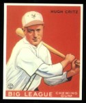 1933 Goudey Reprints #3  Hughie Critz  Front Thumbnail