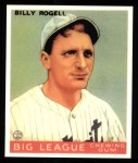 1933 Goudey Reprints #11  Billy Rogell  Front Thumbnail