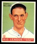 1933 Goudey Reprints #82  Dib Williams  Front Thumbnail