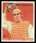 1933 Goudey Reprints #1  Benny Bengough  Front Thumbnail