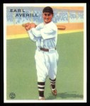 1933 Goudey Reprints #194  Earl Averill  Front Thumbnail