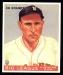 1933 Goudey Reprints #50  Ed Brandt  Front Thumbnail