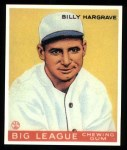 1933 Goudey Reprints #172  Billy Hargrave  Front Thumbnail