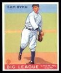 1933 Goudey Reprints #157  Sammy Byrd  Front Thumbnail