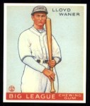 1933 Goudey Reprints #164  Lloyd Waner  Front Thumbnail