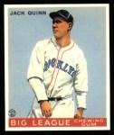1933 Goudey Reprints #78  Jack Quinn  Front Thumbnail