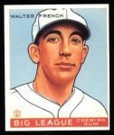 1933 Goudey Reprints #177  Walter French  Front Thumbnail
