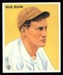 1933 Goudey Reprints #206  Gus Suhr  Front Thumbnail