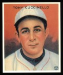 1933 Goudey Reprints #99  Tony Cuccinello  Front Thumbnail