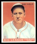 1933 Goudey Reprints #150  Ray Kolp  Front Thumbnail