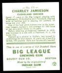1933 #171  Charlie Jamieson  Back Thumbnail
