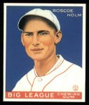 1933 Goudey Reprints #173  Roscoe Holm  Front Thumbnail