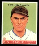 1933 Goudey Reprints #83  Pete Jablonowski  Front Thumbnail