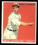1933 Goudey Reprints #14  Henry Johnson  Front Thumbnail