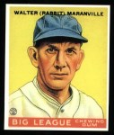 1933 Goudey Reprints #117  Rabbit Maranville  Front Thumbnail