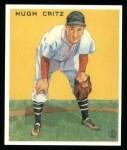 1933 Goudey Reprints #238  Hughie Critz  Front Thumbnail
