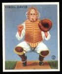 1933 Goudey Reprints #210  Virgil Davis  Front Thumbnail