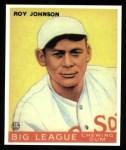 1933 Goudey Reprints #8  Roy Johnson  Front Thumbnail