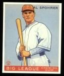 1933 Goudey Reprints #161  Al Spohrer  Front Thumbnail