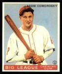 1933 Goudey Reprints #77  Adam Comorosky  Front Thumbnail