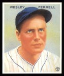 1933 Goudey Reprints #218  Wes Ferrell  Front Thumbnail