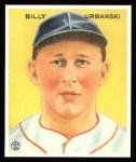 1933 Goudey Reprints #212  Billy Urbanski  Front Thumbnail