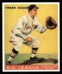 1933 Goudey Reprints #30  Frank Hogan  Front Thumbnail