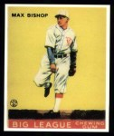 1933 Goudey Reprints #61  Max Bishop  Front Thumbnail