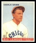 1933 Goudey Reprints #51  Charlie Grimm  Front Thumbnail