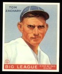 1933 Goudey Reprints #91  Tom Zachary  Front Thumbnail