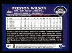 2003 Topps #528  Preston Wilson  Back Thumbnail