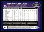 2003 Topps #248  Shawn Chacon  Back Thumbnail