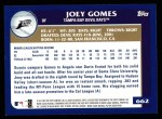 2003 Topps #662  Joey Gomes  Back Thumbnail