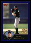 2003 Topps #317   -  Doug Waechter First Year Front Thumbnail