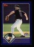 2003 Topps #213  Todd Jones  Front Thumbnail