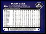 2003 Topps #97  Todd Zeile  Back Thumbnail