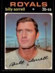 1971 O-Pee-Chee #17   -  Billy Sorrell    Front Thumbnail