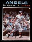 1971 O-Pee-Chee #78  Jim Spencer  Front Thumbnail