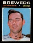 1971 O-Pee-Chee #48  Dave Baldwin  Front Thumbnail