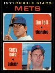 1971 O-Pee-Chee #83   -   Randy Bobb / Tim Foli Mets Rookies Front Thumbnail