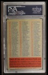 1956 Topps #0   Checklist Series 2/4 Back Thumbnail