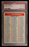 1956 Topps #0   Checklist Series 2/4 Front Thumbnail