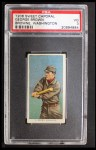 1909 T206 #56 WAS George Browne / Mispelled as Brown  Front Thumbnail
