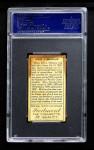 1911 T205 #130  John McGraw  Back Thumbnail