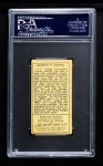 1911 T205 #208  Cy Young  Back Thumbnail