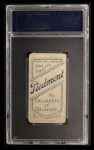 1909 T206 #111 THR Sam Crawford  Back Thumbnail