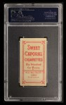 1909 T206 #76  Peter Cassidy  Back Thumbnail