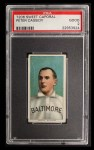 1909 T206 #76  Peter Cassidy  Front Thumbnail