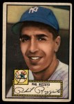 1952 Topps #11 RED Phil Rizzuto  Front Thumbnail